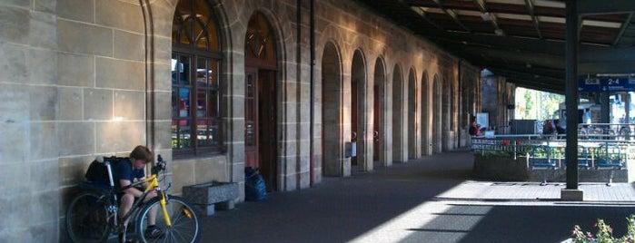 Erlangen Hauptbahnhof is one of Bahnhöfe DB.