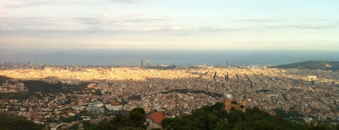 Tibidabo is one of Best places for Jaw dropping views of Barcelona.