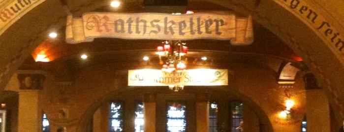Der Rathskeller is one of Wisconsin Union Food Locations.