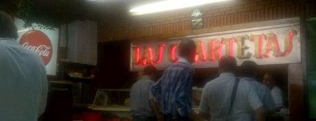 Las Cuartetas is one of Las Mejores Pizzerias en Bs As.