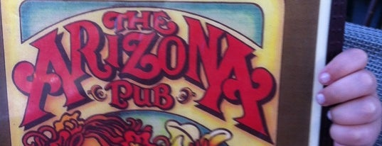 Arizona Pub is one of Top 10 dinner spots in Atlanta, GA.