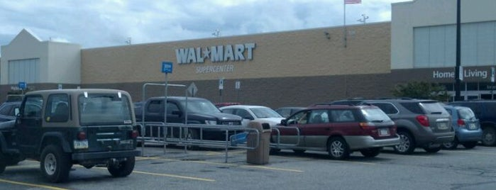 Walmart Supercenter is one of Frequent <3.
