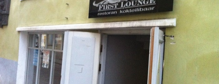 First Lounge is one of Must-visit Cocktails Bars in Tallinn.
