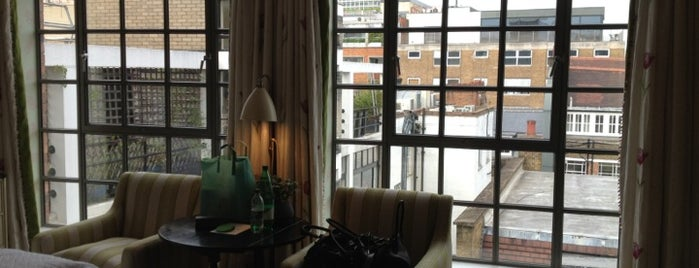 Soho Hotel is one of London's West End.