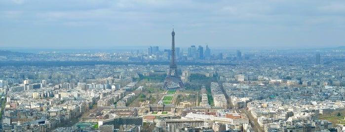 Die Aussichtsplattform des Tour Montparnasse is one of Paris, FR.