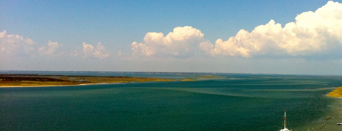 Cape Lookout Lighthouse is one of Cool spots to visit with kiddos.
