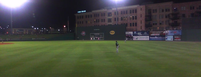 Fluor Field is one of Places from the reporting trail.