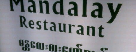 Mandalay Restaurant is one of B-town = Food Town!.