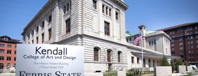 Kendall College of Art & Design Woodbridge N. Ferris Building is one of Top Ten Must See ArtPrize 2012 Venues.