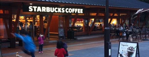 Starbucks is one of 行ってみたいカフェ.