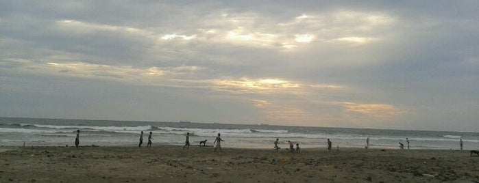 Pantai Panjang (Long Beach) is one of Sight seeing in Bengkulu #4sqCities.