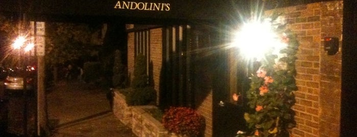 Andolini's Restaurant is one of Andover Area Restaurants.
