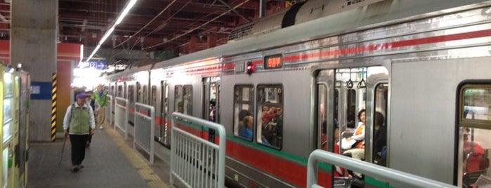 창동역 (Changdong Stn.) is one of Subway Stations in Seoul(line1~4 & DX).
