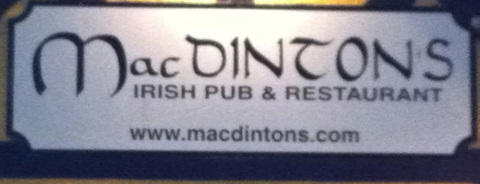 MacDinton's Irish Pub & Restaurant is one of Princess' Tampa Hot Spots!.
