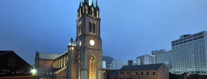 Myeongdong Cathedral is one of Korean Early Modern Architectural Heritage.