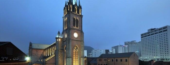 명동성당 (Myeongdong Cathedral) is one of Korean Early Modern Architectural Heritage.