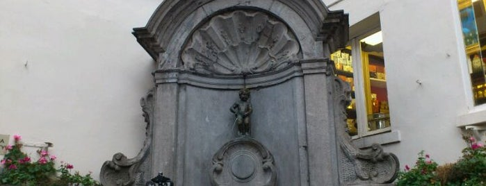 Manneken Pis is one of The Best Places I Have Ever Been.