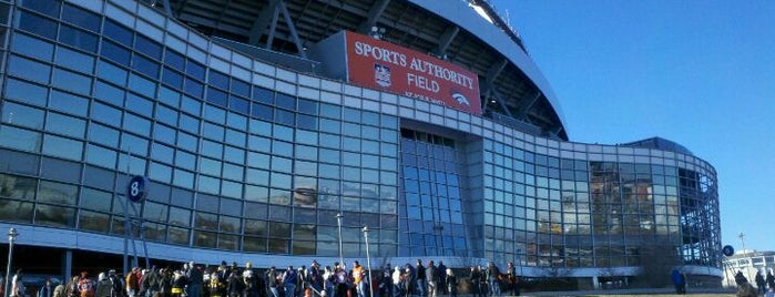 Sports Authority Field at Mile High is one of Sports Arena's.