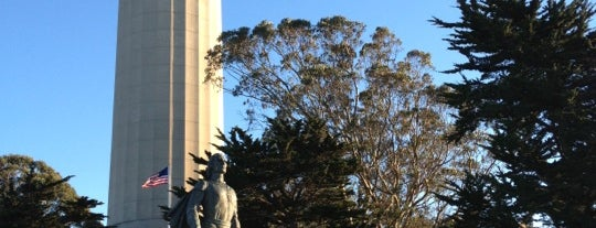 Coit Tower is one of SF City Guides Tours of San Francisco.