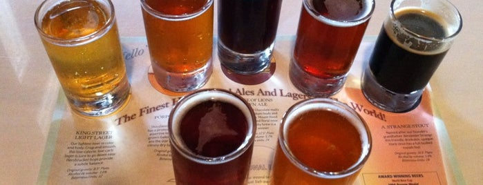 A1A Ale Works is one of St. Augustine Tourist Spots to See.