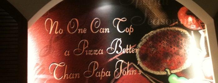 Papa John's is one of makan sedap.