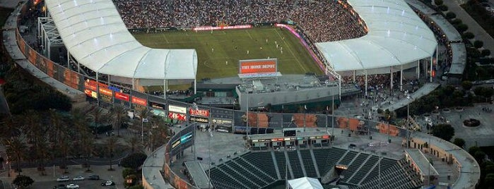 StubHub Center is one of Major League Soccer Stadiums.
