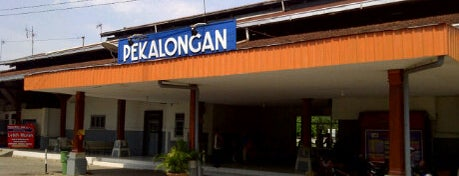 Stasiun Pekalongan is one of Pekalongan World of Batik.