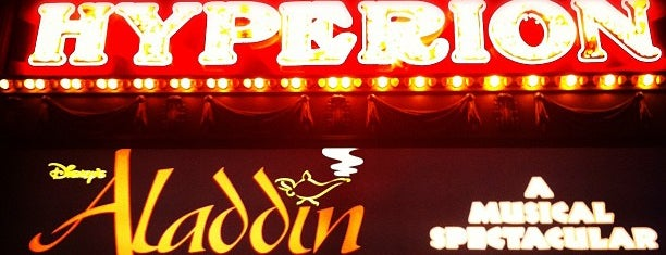 Hyperion Theater - Disney's Aladdin A Musical Spectacular is one of Disneyland Fun!!!.