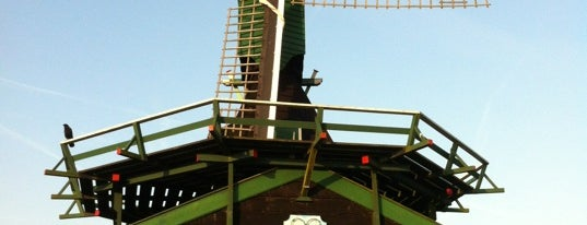 Molen Het Klaverblad (lattenzager) is one of Dutch Mills - North 1/2.