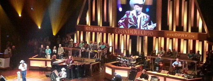 Grand Ole Opry House is one of 11 Cool Places in Nashville You Really Must Visit.