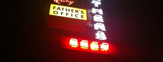 Father's Office is one of LA's Best Hamburgers.