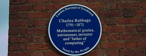 Charles Babbage's Birthplace is one of Steampunk London.