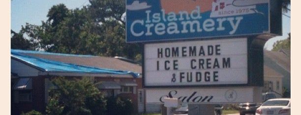 Island Creamery is one of Favorites.