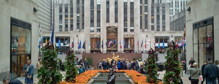 Rockefeller Center is one of New York City's Must-See Attractions.