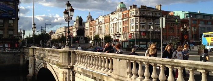 O'Connell Bridge is one of Things I want to do in Dublin.