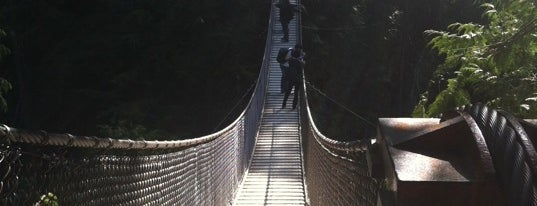Lynn Canyon Suspension Bridge is one of Canada Favorites.