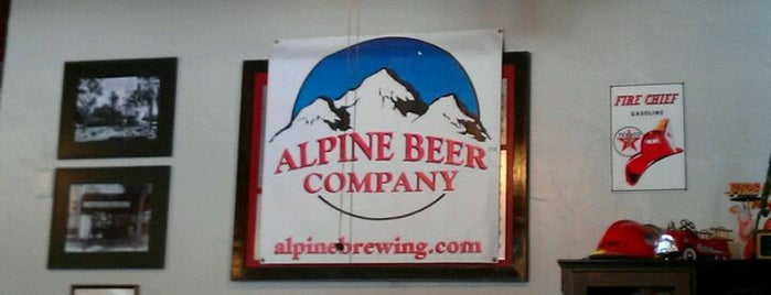 Alpine Beer Company is one of Local breweries.