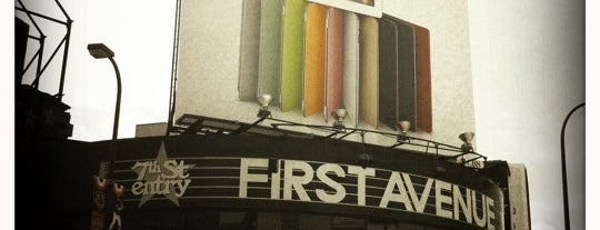 First Avenue & 7th St Entry is one of Must-visit Music Venues in Minneapolis.