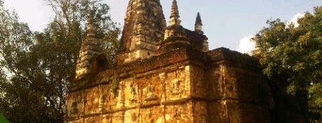 วัดโพธารามฯ (วัดเจ็ดยอด) Wat Jed Yod is one of Chaing Mai (เชียงใหม่).