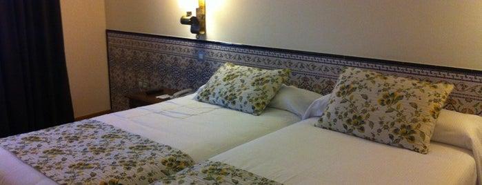Hesperia Córdoba is one of Donde comer y dormir en cordoba.