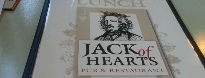 Jack of Hearts Pub & Restaurant is one of 10 Years in Asheville.