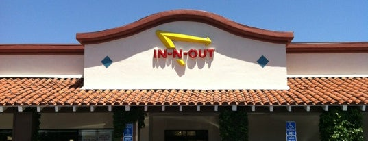 In-N-Out Burger is one of Marin Food.