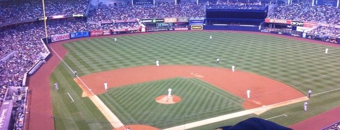 Yankee Stadium is one of MLB Baseball Stadiums.
