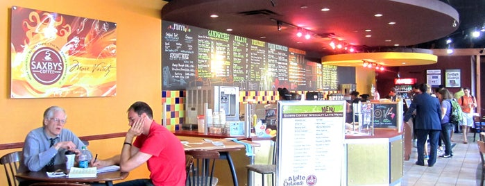 Saxbys Coffee is one of Penn Spots - West Philly.
