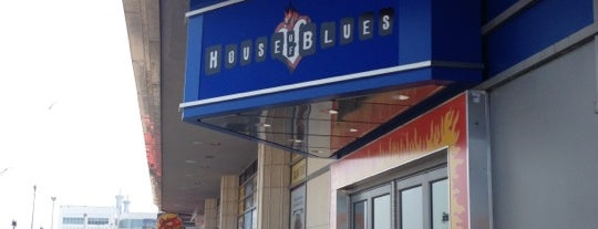 House Of Blues is one of Things To Do In NJ.