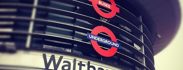 Walthamstow Central London Underground Station is one of Tube Challenge.