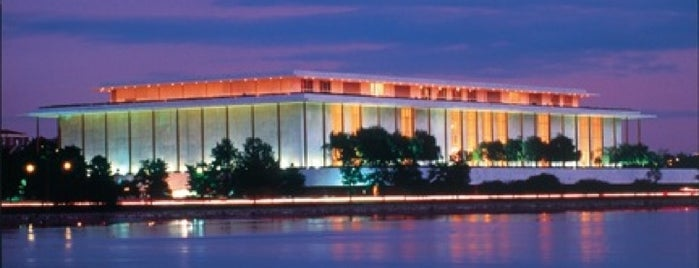 The John F. Kennedy Center for the Performing Arts is one of Documerica.