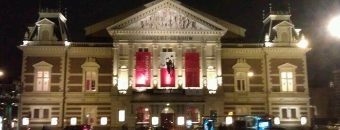 Het Concertgebouw is one of Oh, Amsterdam.