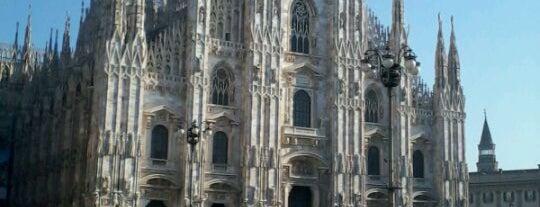 Piazza del Duomo is one of Milan City Badge - Milano da bere.