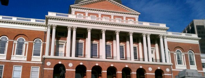 Massachusetts State House is one of BUcket List.